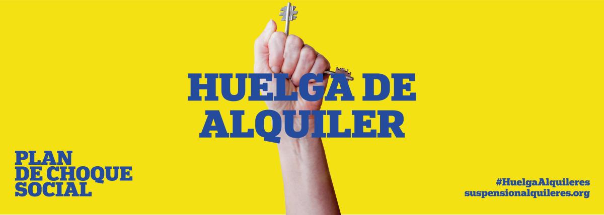 Huelga de Alquileres 1 Abril